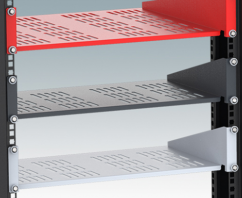 "2U Cantilever Shelves for 19"" Racks"