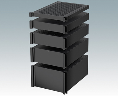 "Superdeep Combimet 19"" rack cases"