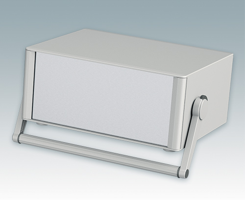 Instrument enclosures with carry handle bar