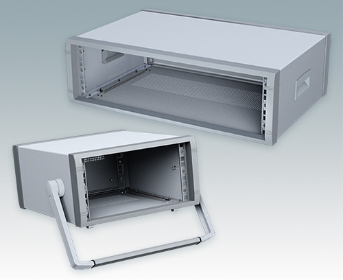 Instrumet 19 inch x 3U desktop rack enclosures