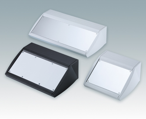 Unidesk sloping front desktop enclosures